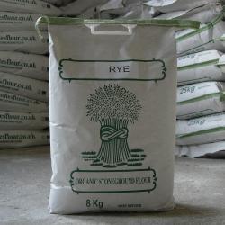 Organic Rye Flour 8kg