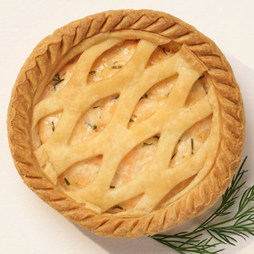Le PETIT Salmon & Dill/Mushroom Pies