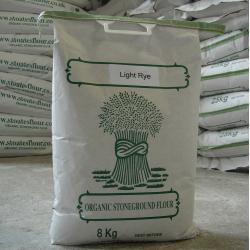 Organic Light Rye Flour 8kg