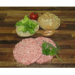 Pork and Herb Burgers