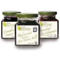 Gourmet Organic Mint & Redcurrant Jelly