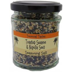 SESAME & NIGELLA SEED SEASONING SALT
