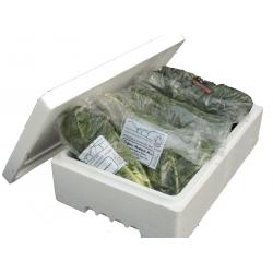 Organic Spinach and Stirfry box