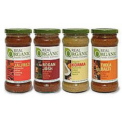 Organic Rogan Josh Curry Sauce