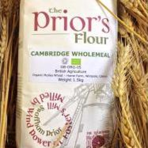The Prior's Organic Wholemeal Flour 3kg