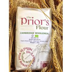 The Prior's Organic Wholemeal Flour 1.5kg