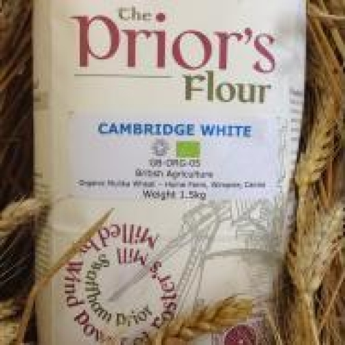 The Prior's Organic White Flour 25kg