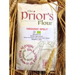 The Prior's Organic Spelt Flour 1.5kg