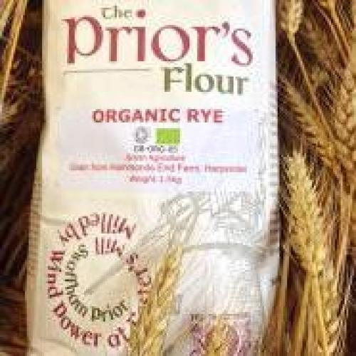 The Prior's Organic Rye Flour 3kg