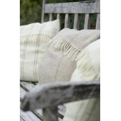 Cushion Cover - Taupe Double Stripe
