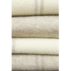 Large Blanket - Taupe Double Stripe