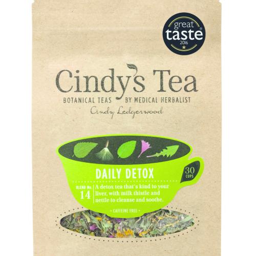 Detox Herbal Tea with Milkthistle -  liver / kidney cleanse