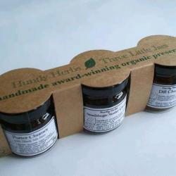 Three Little Jars of Jam