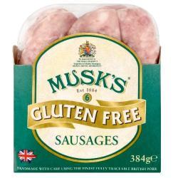 Musk's Gluten Free Sausage
