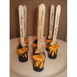 Seville Orange Chocolate Spoon