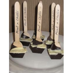 Mint & Chilli Chocolate Spoon