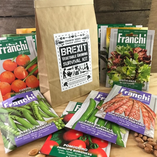 Brexit Vegetable growing survival Kit