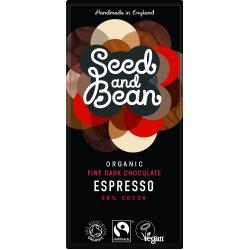 Coffee Espresso Dark Chocolate Bar