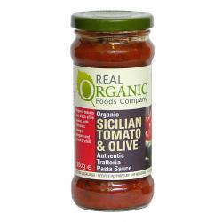Sicilian Tomato & Olive Pasta sauce