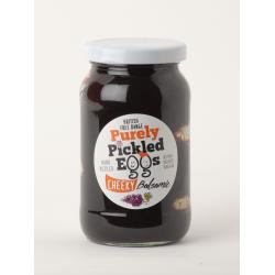 Cheeky Balsamic Pickled Eggs