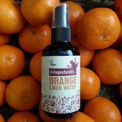 Living Naturally Pure Orange Linen Water