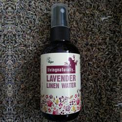 Living Naturally Lavender Linen Water