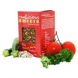 Raw & Organic Crackers- Herb