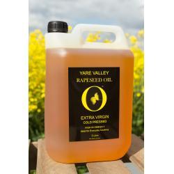 5 Litre Virgin Rapeseed Oil
