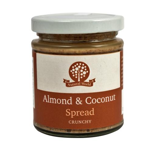 Almond and Coconut Spread - Crunchy