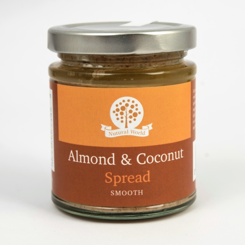 Almond and Coconut Spread - Smooth