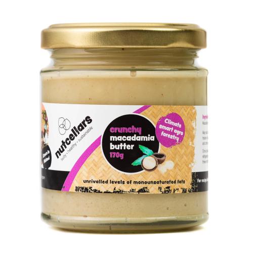 Crunchy Macadamia Butter 170g