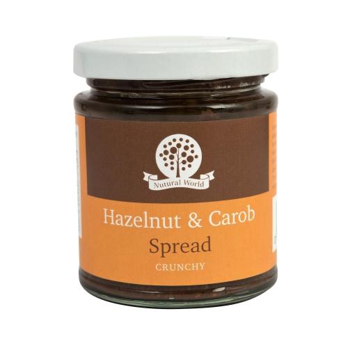 Hazelnut and Carob Spread - Crunchy