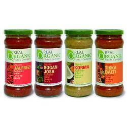 Indian Sauce & Chutney selection