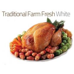 8kg Traditional Farm Fresh White Turkey