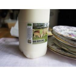 Raw Jersey Cow Milk 9L