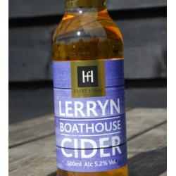 Sparkling Lerryn Boathouse Cider