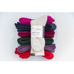 Alpaca Walking socks Electric Blue 4-7