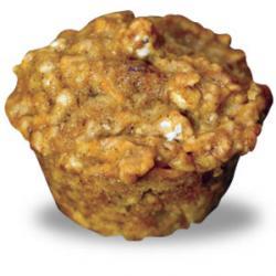 Cranberry & Sweet Potato Muffins