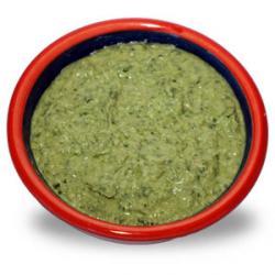 Cheesy Kale & Broccoli Pesto