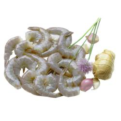 PEELED, DEVEINED, UNCOOKED PRAWNS