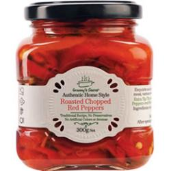 Granny's Secret Roasted Red Peppers