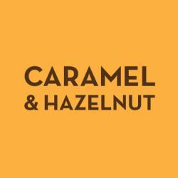 Caramel & Hazelnut traybake