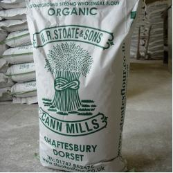 Organic Strong 100% Wholemeal Flour 25kg