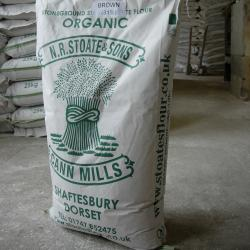 Organic Strong White Flour 25kg