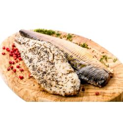 Hot Smoked Mackerel Fillet Pepper 4 X 200g