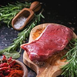 100% Grass-Fed Sirloin Steak