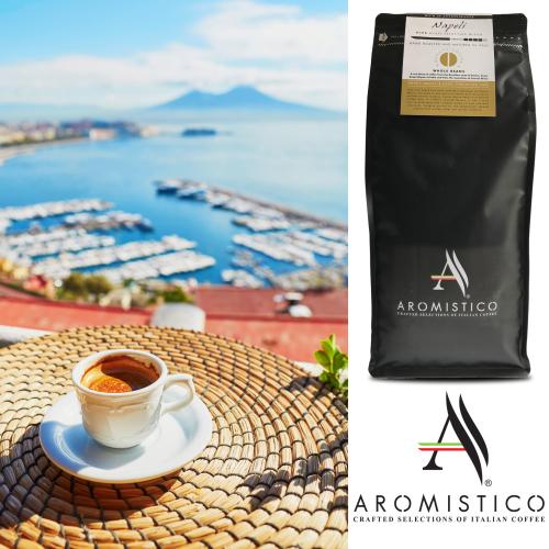 AROMISTICO PREMIUM ROASTED WHOLE COFFEE BEANS NAPOLI BLEND