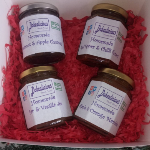 2 Chutneys & 2 Jams Set