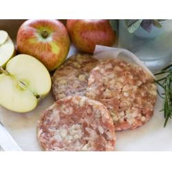 Pork & Apple Burgers