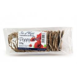 Farmhouse Crackers  - Poppy Seed Ryes